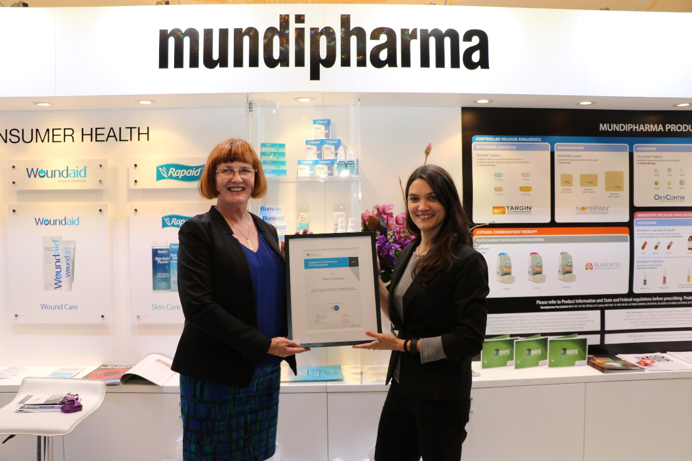 Karalyn Huxhagen wins 2015 PSA QUM in Pain Management Award